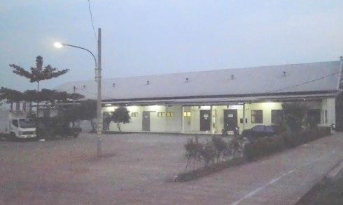 Fasilitas Gedung dan Parkir yang luas ci RPH Tapos